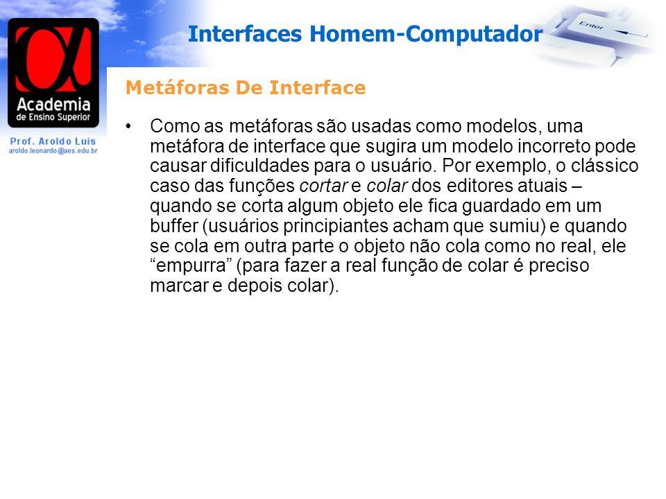 Metáforas De Interface