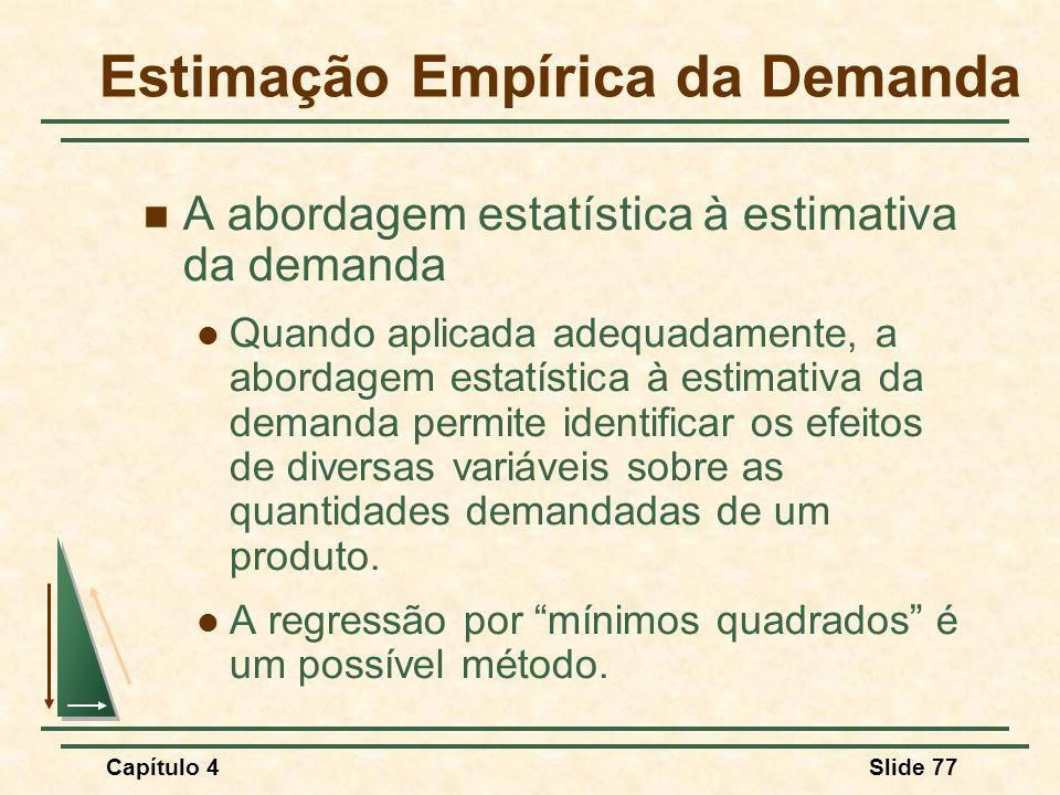 Estimação Empírica da Demanda