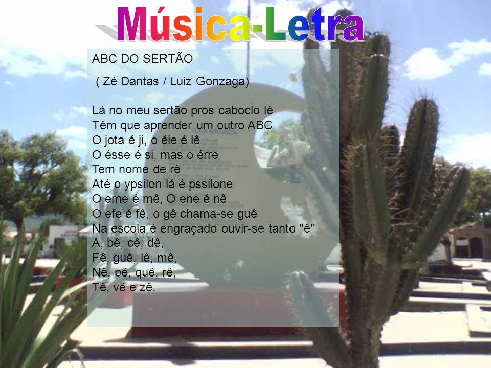 Música-Letra ABC DO SERTÃO