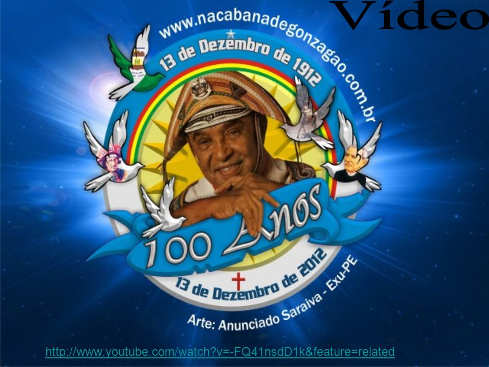 Vídeo http://www.youtube.com/watch v=-FQ41nsdD1k&feature=related