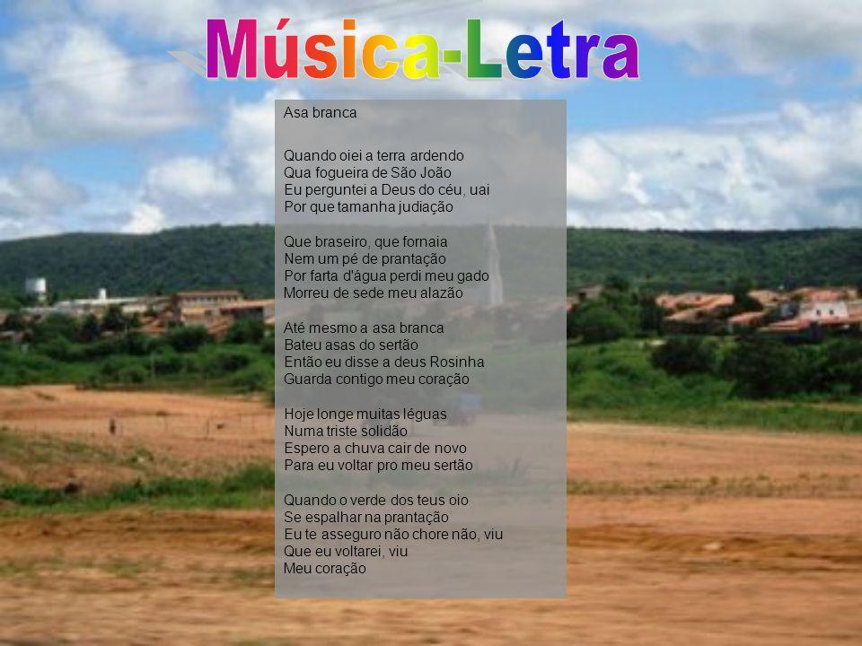 Música-Letra Asa branca