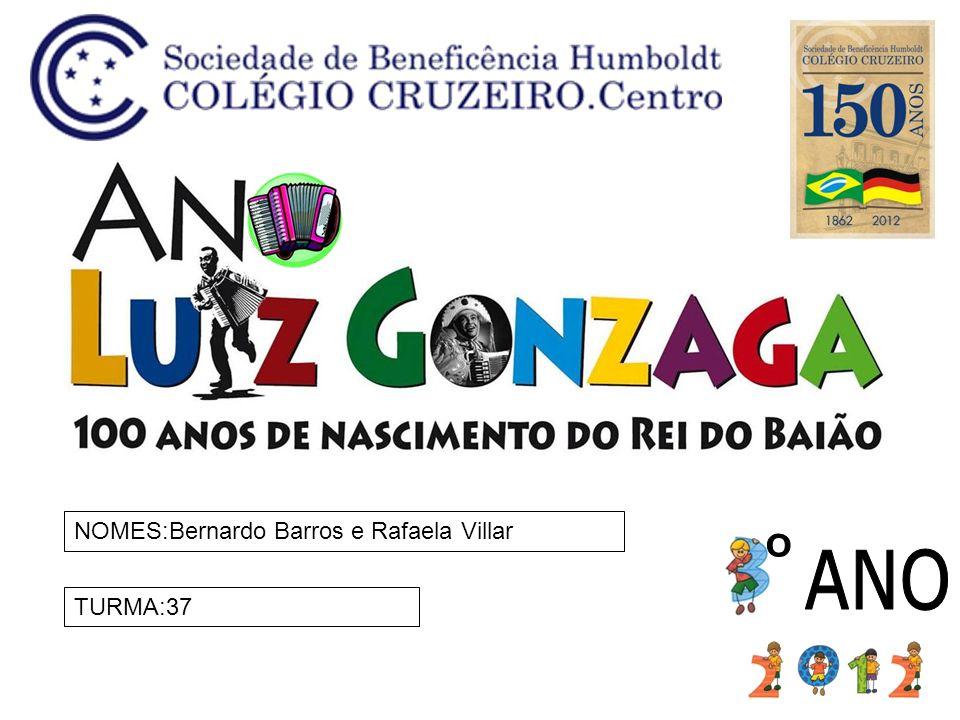 NOMES:Bernardo Barros e Rafaela Villar
