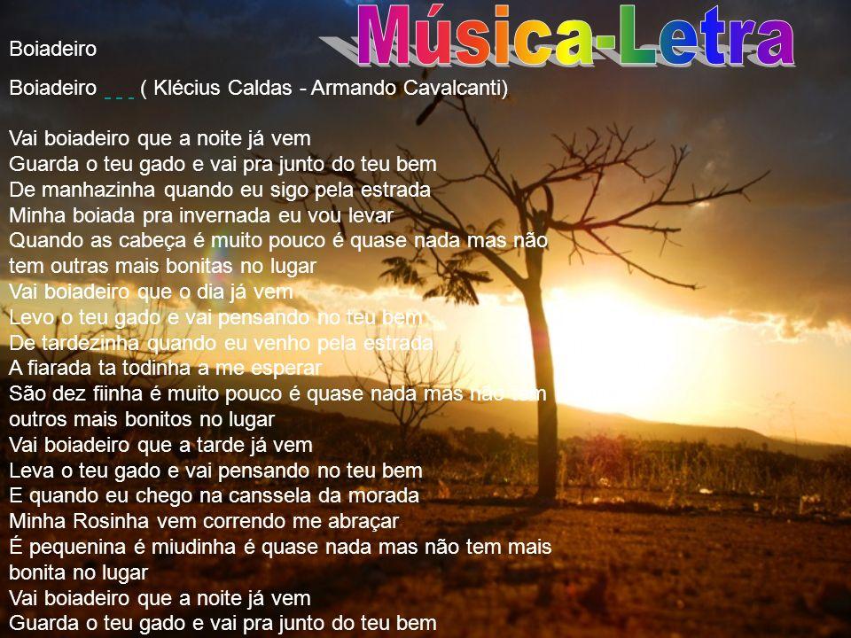 Música-Letra Boiadeiro