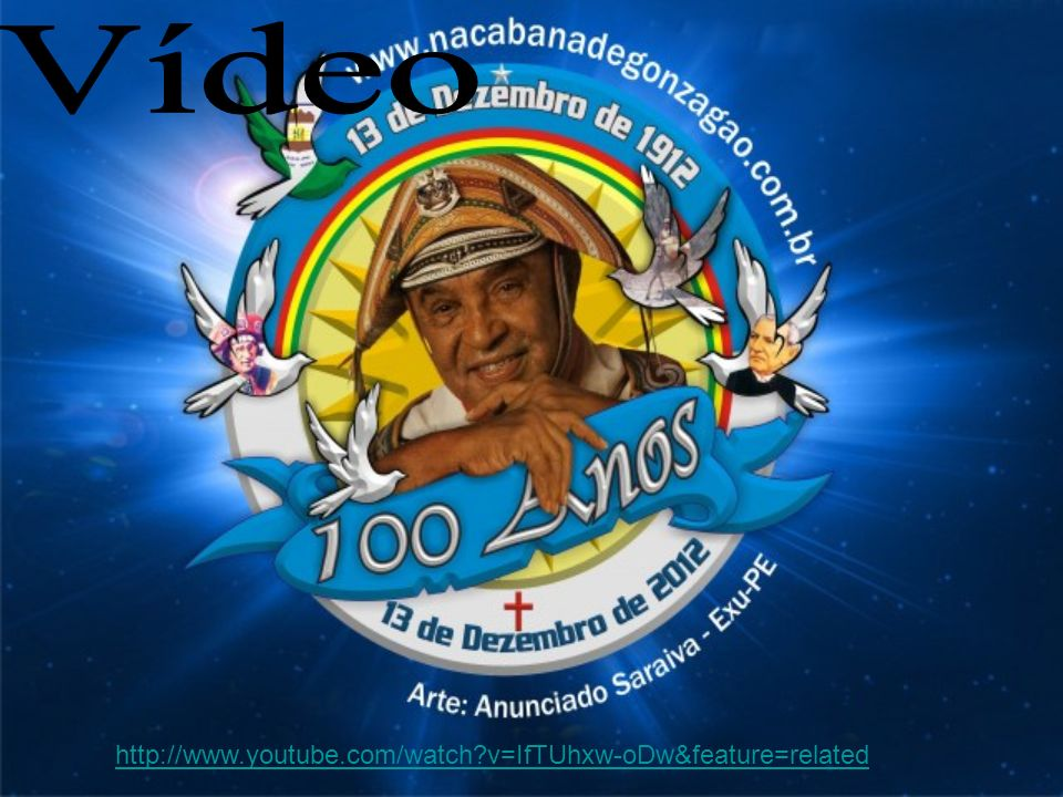 Vídeo http://www.youtube.com/watch v=IfTUhxw-oDw&feature=related