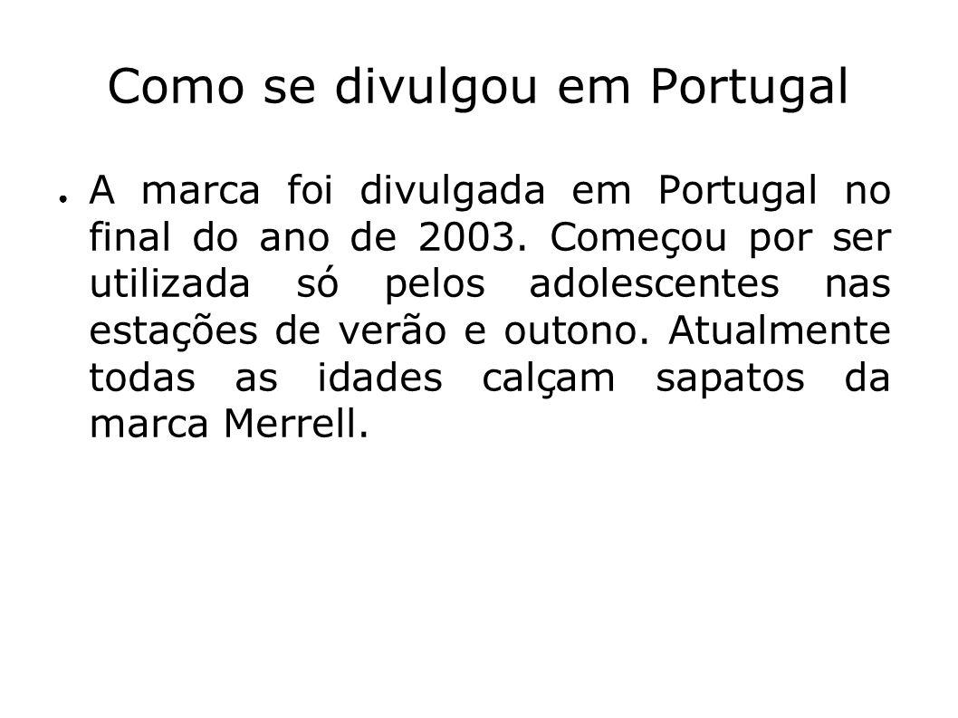 Como se divulgou em Portugal