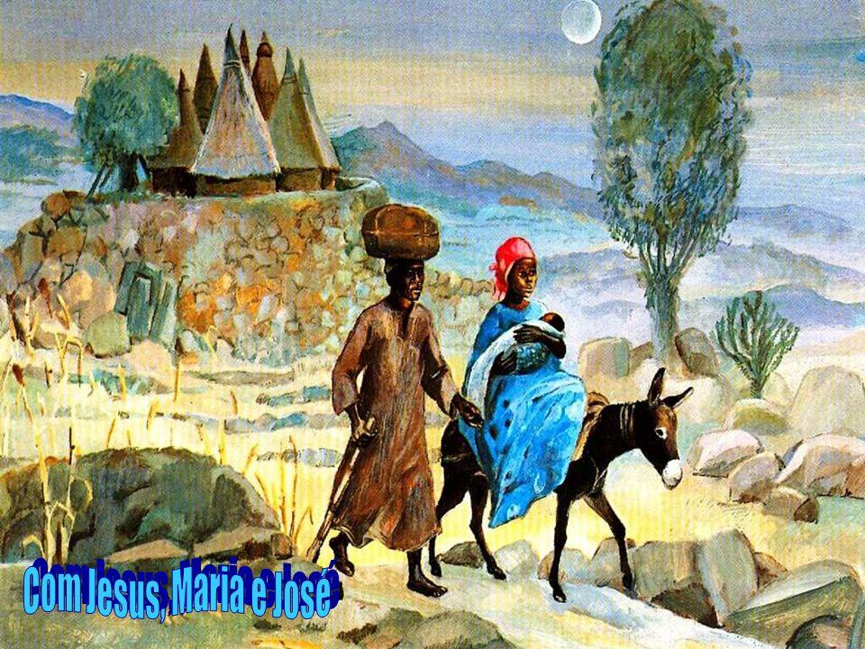 Com Jesus, Maria e José