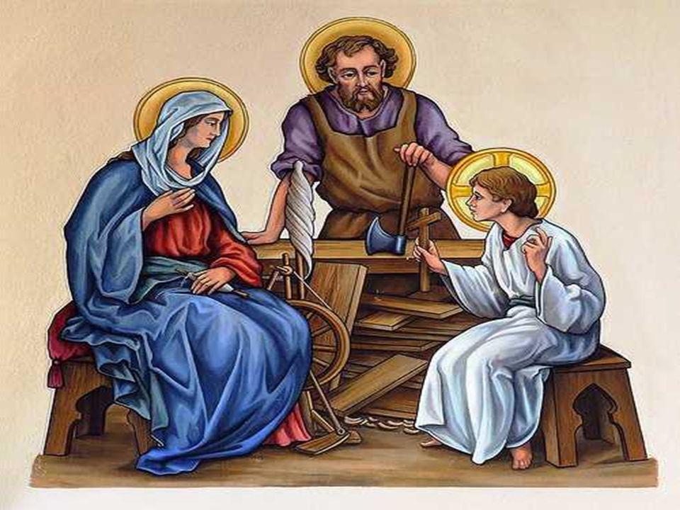 a liturgia nos apresenta a FAMÍLIA SAGRADA