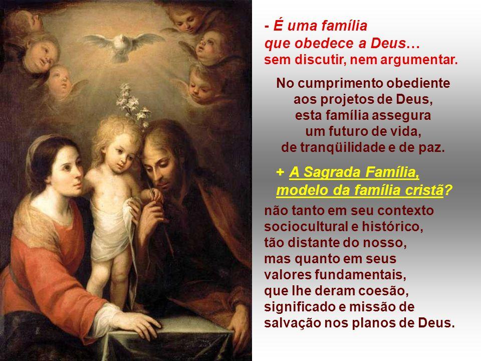 modelo da família cristã