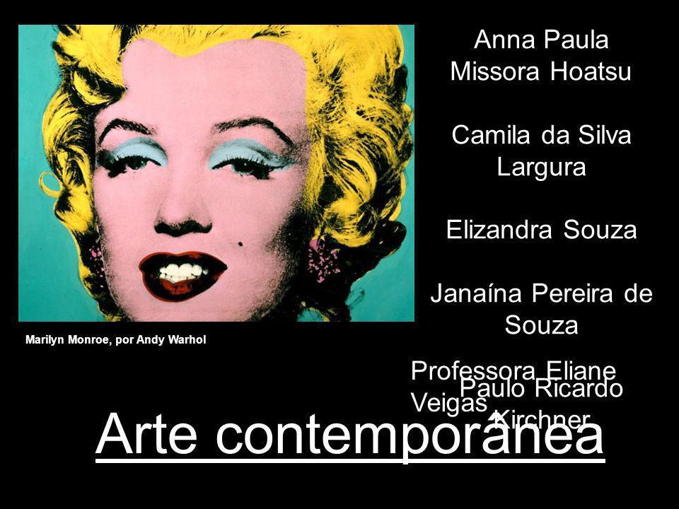 Arte contemporânea Anna Paula Missora Hoatsu Camila da Silva Largura