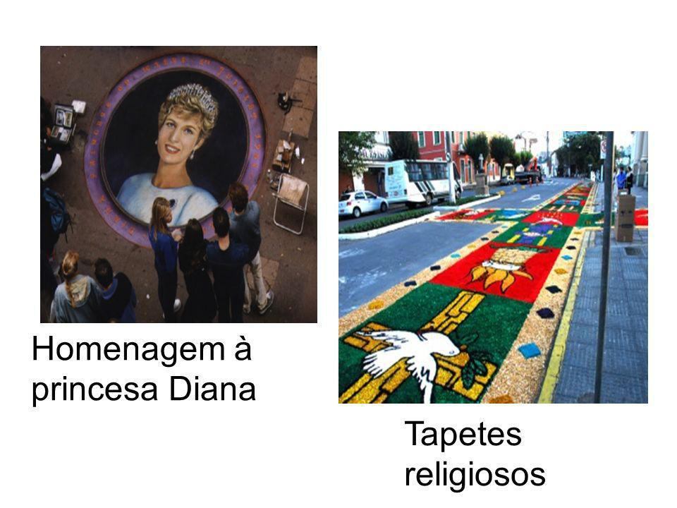 Homenagem à princesa Diana
