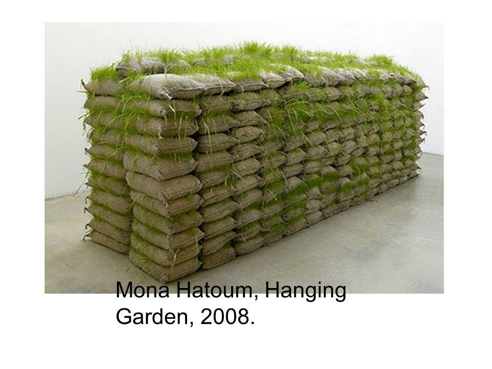 Mona Hatoum, Hanging Garden, 2008.