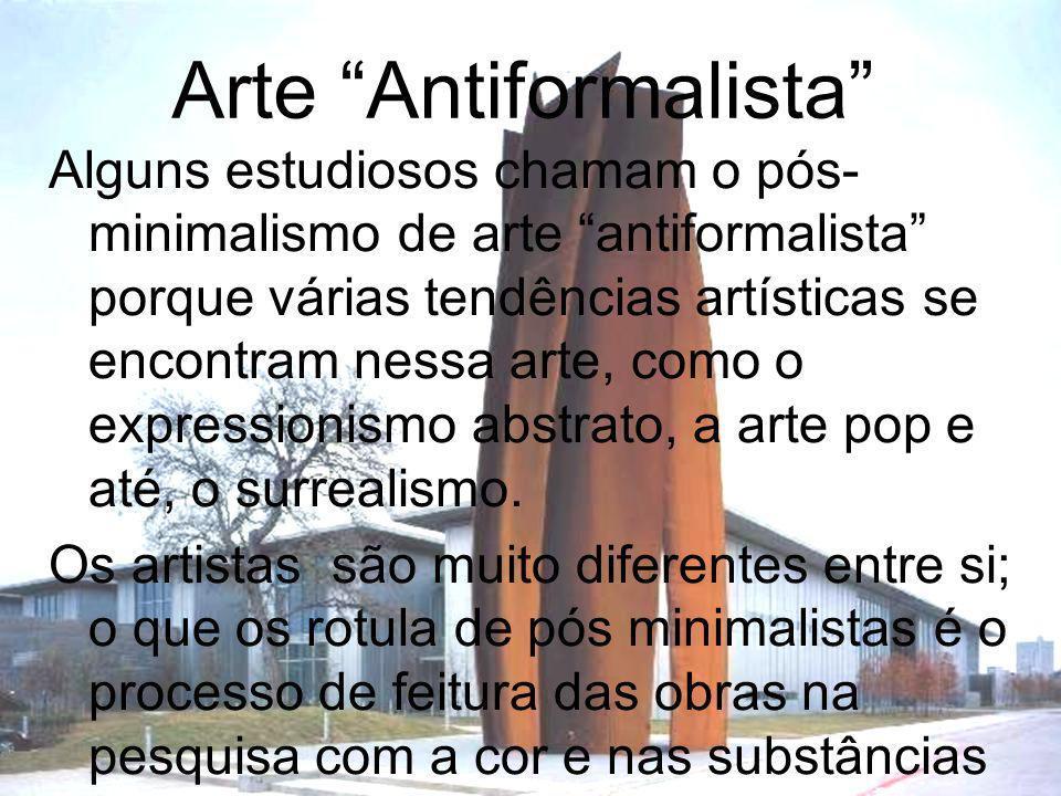 Arte Antiformalista