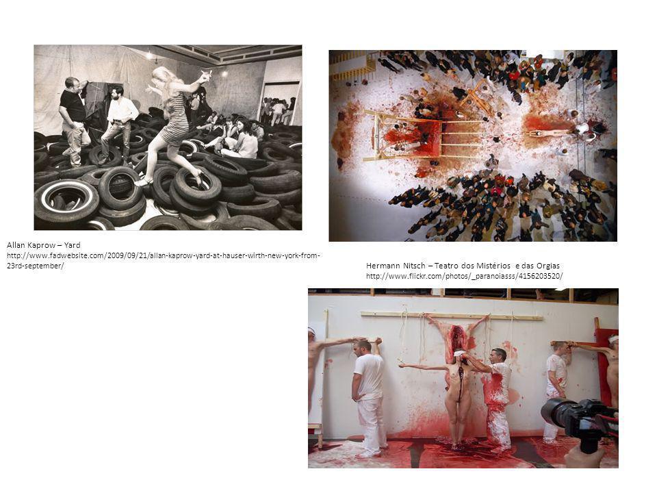 Hermann Nitsch – Teatro dos Mistérios e das Orgias