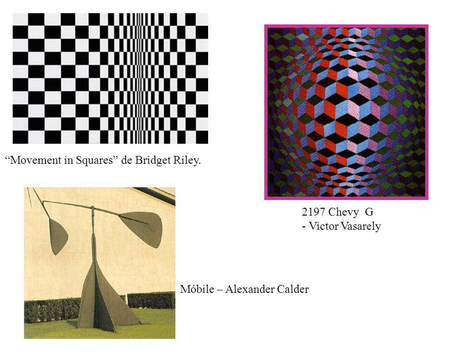 Movement in Squares de Bridget Riley.
