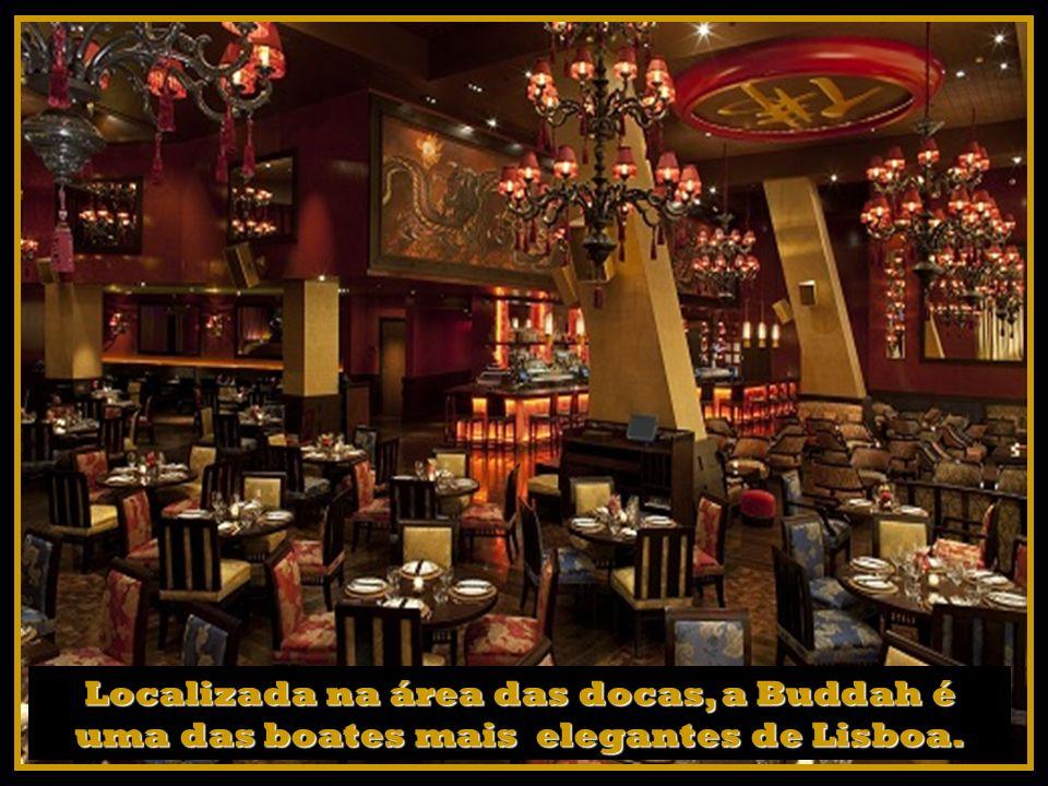 Localizada na área das docas, a Buddah é uma das boates mais elegantes de Lisboa.