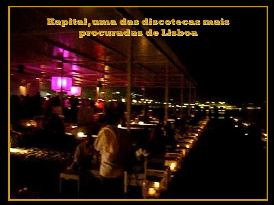 Kapital, uma das discotecas mais procuradas de Lisboa