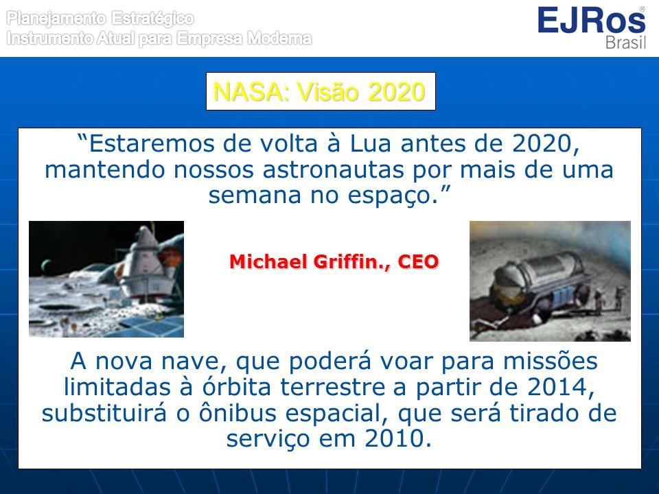 NASA: Visão 2020 Michael Griffin., CEO