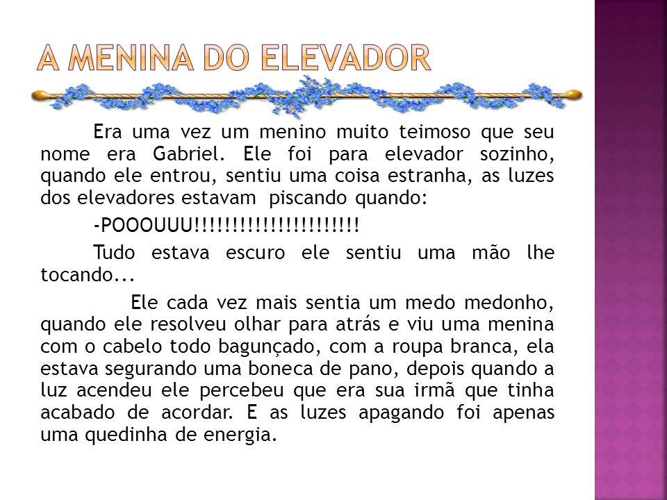 A menina do elevador