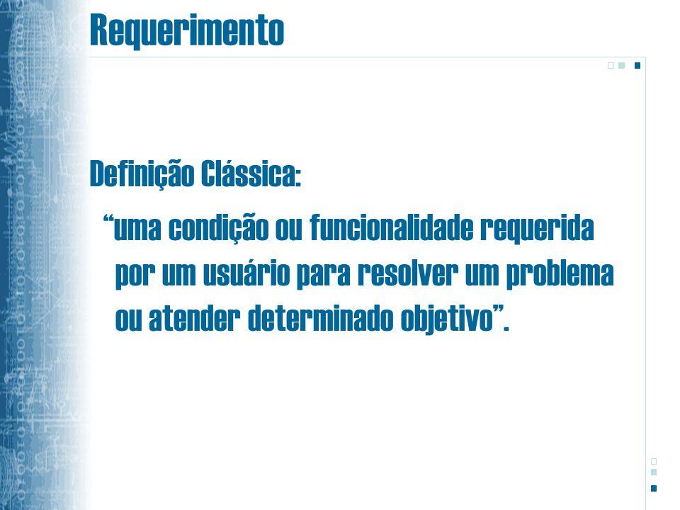Requerimento Definição Clássica: