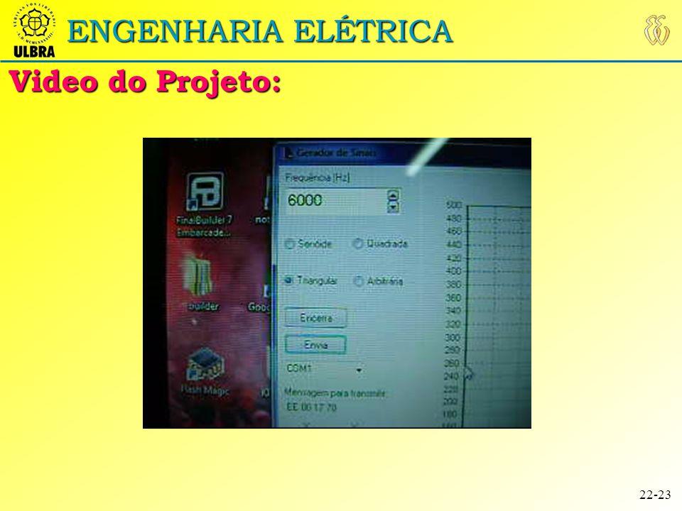 19:42 ENGENHARIA ELÉTRICA Video do Projeto: