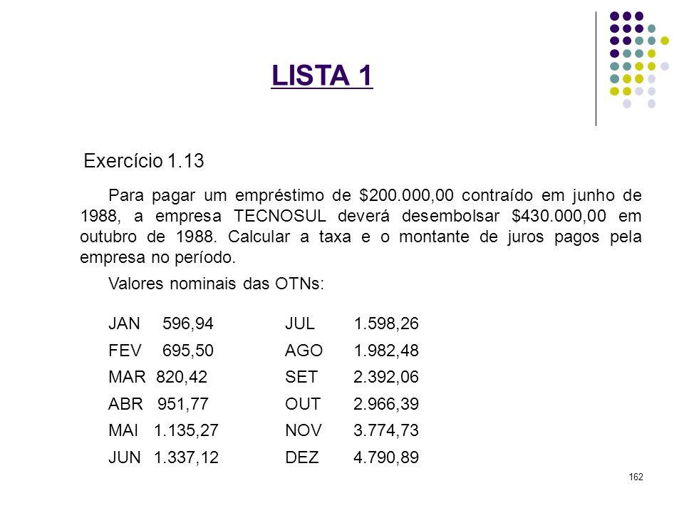 LISTA 1 Exercício 1.13.