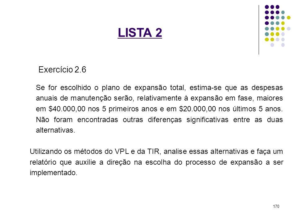 LISTA 2 Exercício 2.6.