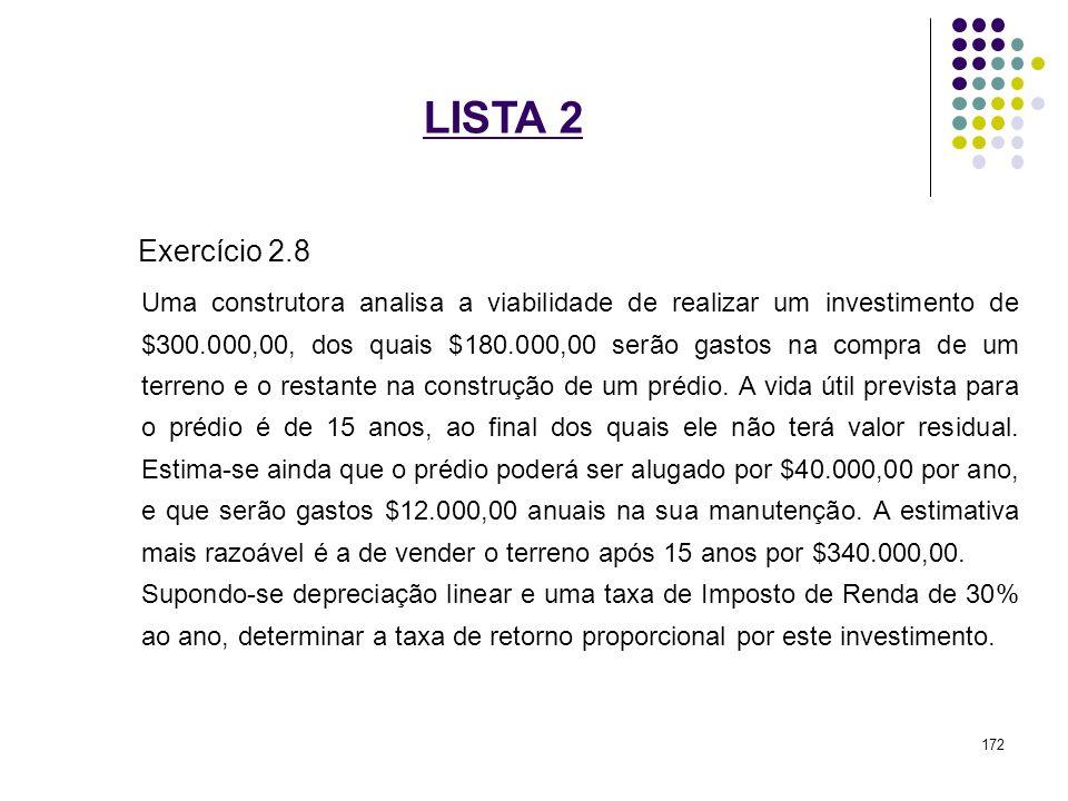 LISTA 2 Exercício 2.8.