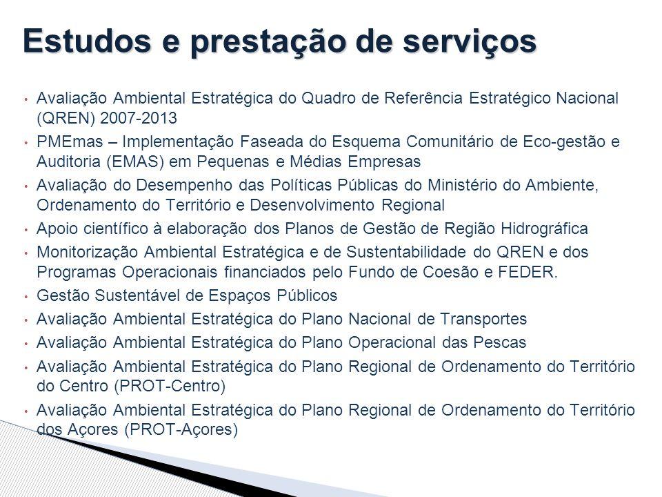 Estudos e prestação de serviços
