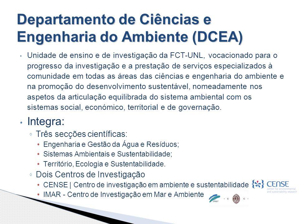 Departamento de Ciências e Engenharia do Ambiente (DCEA)