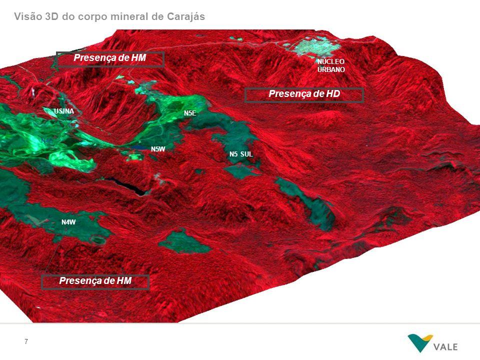 Mapeamento Geológico LEGENDA Canga Química Jaspilito Canga de Minério
