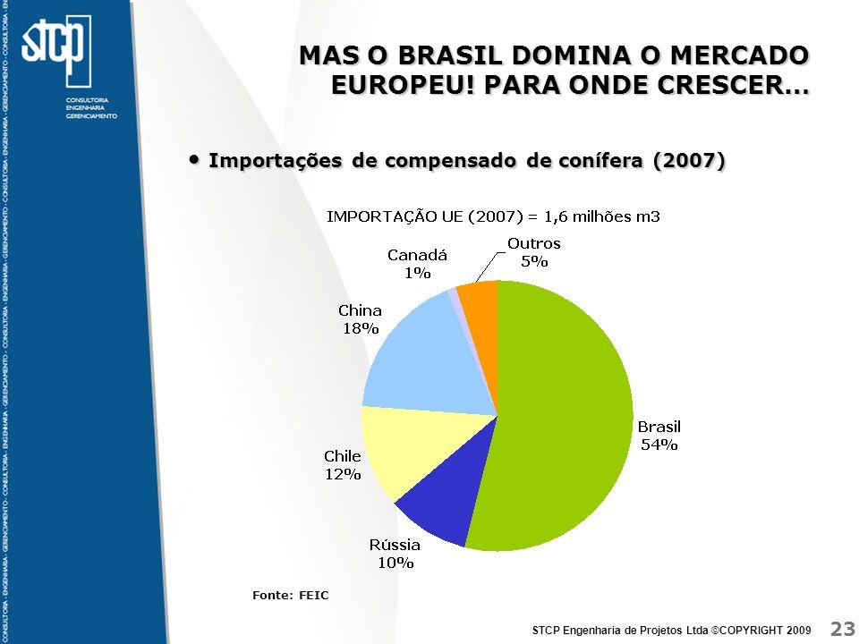 MAS O BRASIL DOMINA O MERCADO EUROPEU! PARA ONDE CRESCER…