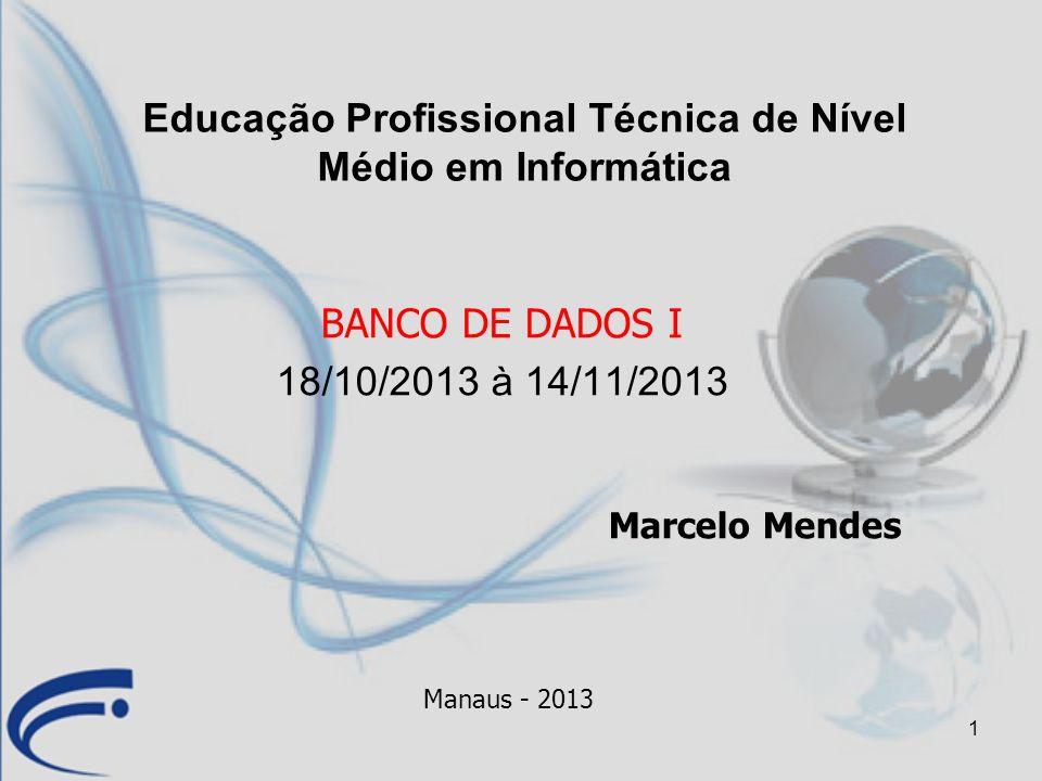 Educação Profissional Técnica de Nível Médio em Informática