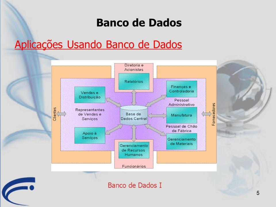 Aplicações Usando Banco de Dados