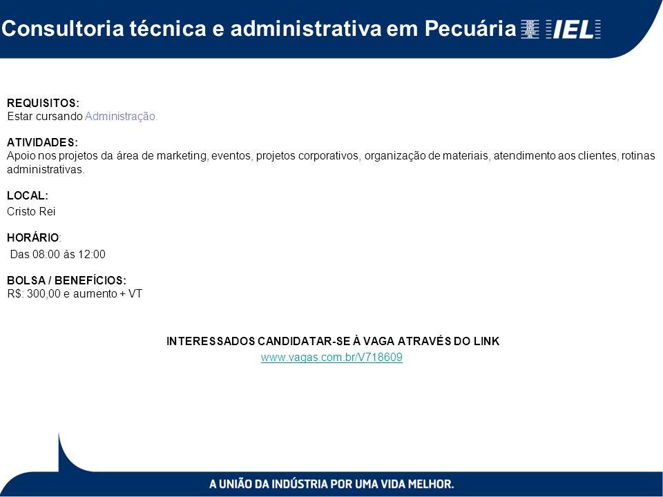 Consultoria técnica e administrativa em Pecuária