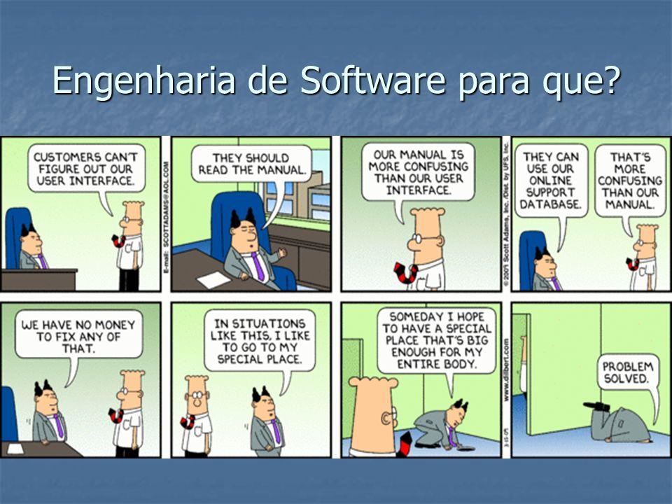 Engenharia de Software para que