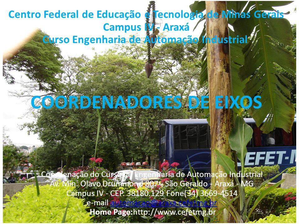 COORDENADORES DE EIXOS