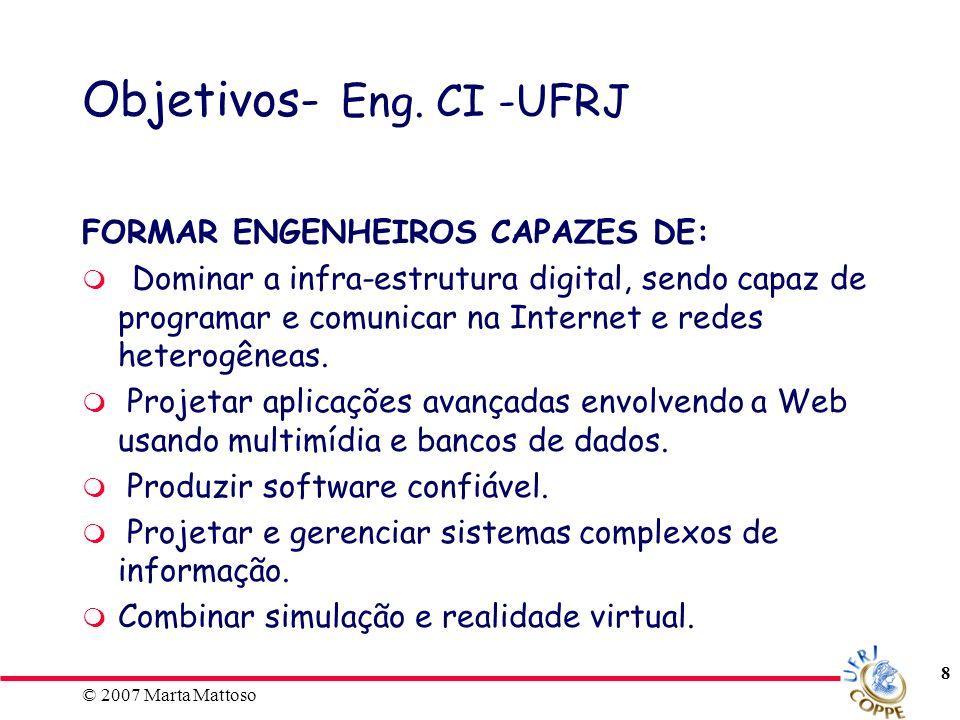 Objetivos- Eng. CI -UFRJ