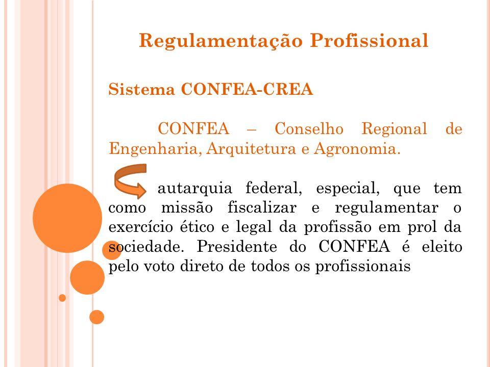 Regulamentação Profissional