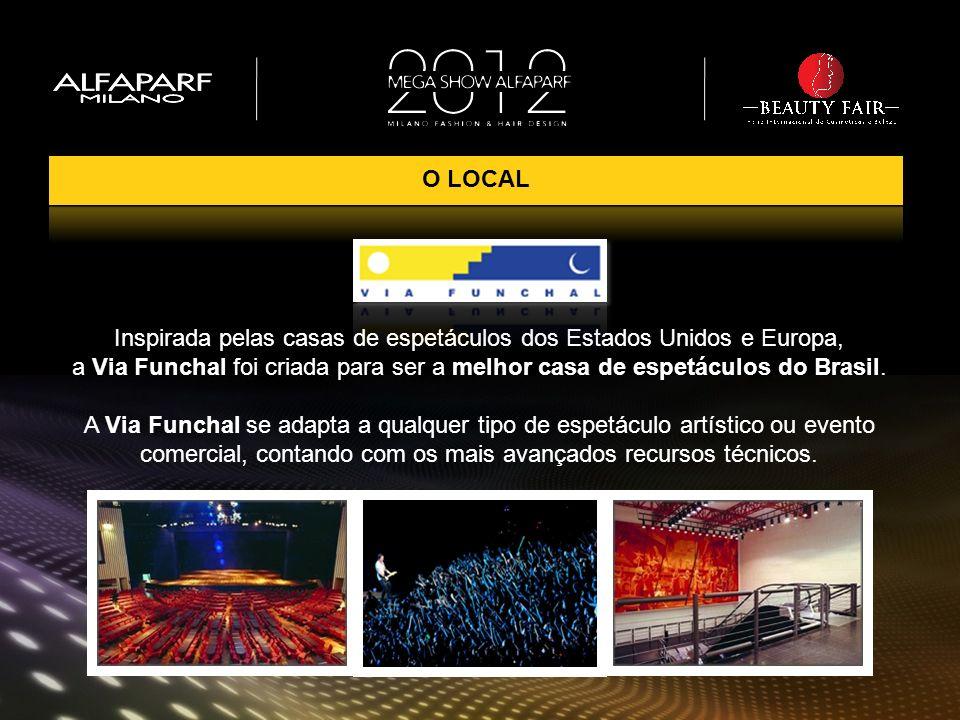 O LOCAL Inspirada pelas casas de espetáculos dos Estados Unidos e Europa, a Via Funchal foi criada para ser a melhor casa de espetáculos do Brasil.