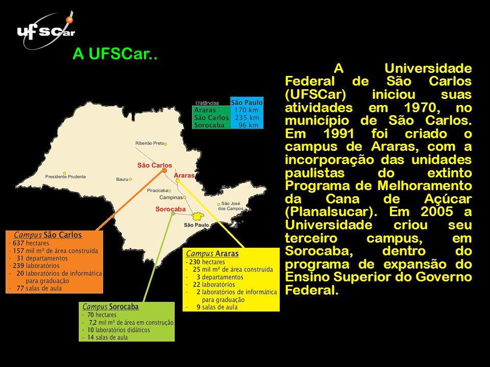A UFSCar..