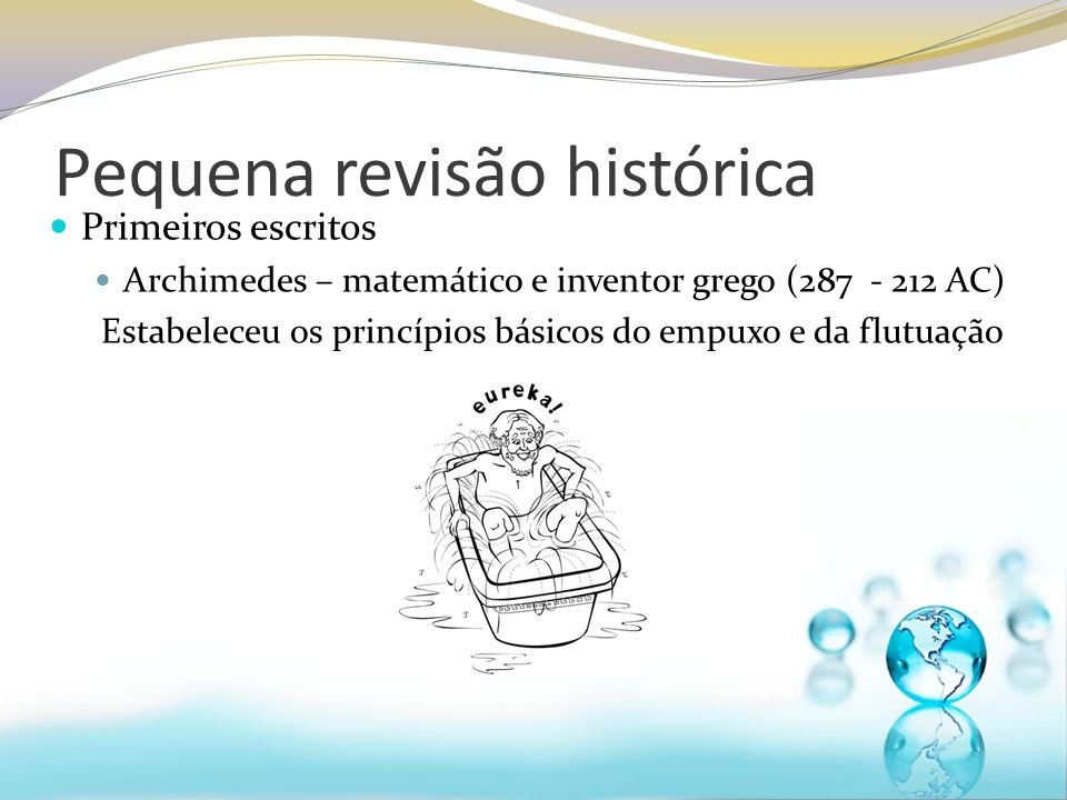Pequena revisão histórica