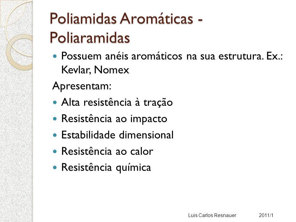 Poliamidas Aromáticas - Poliaramidas