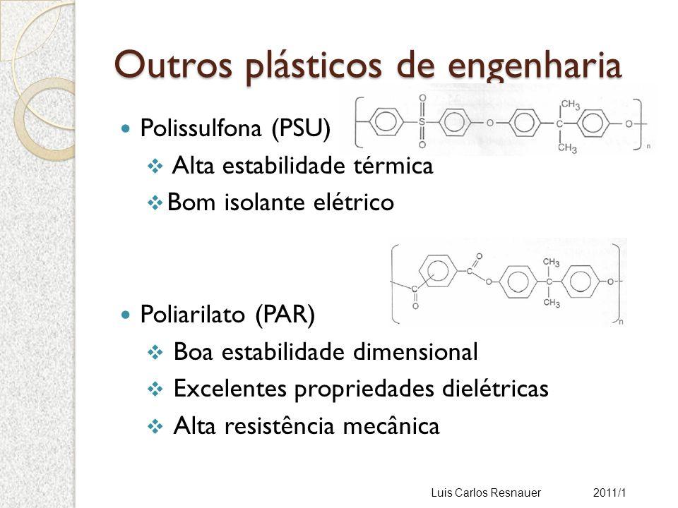 Outros plásticos de engenharia