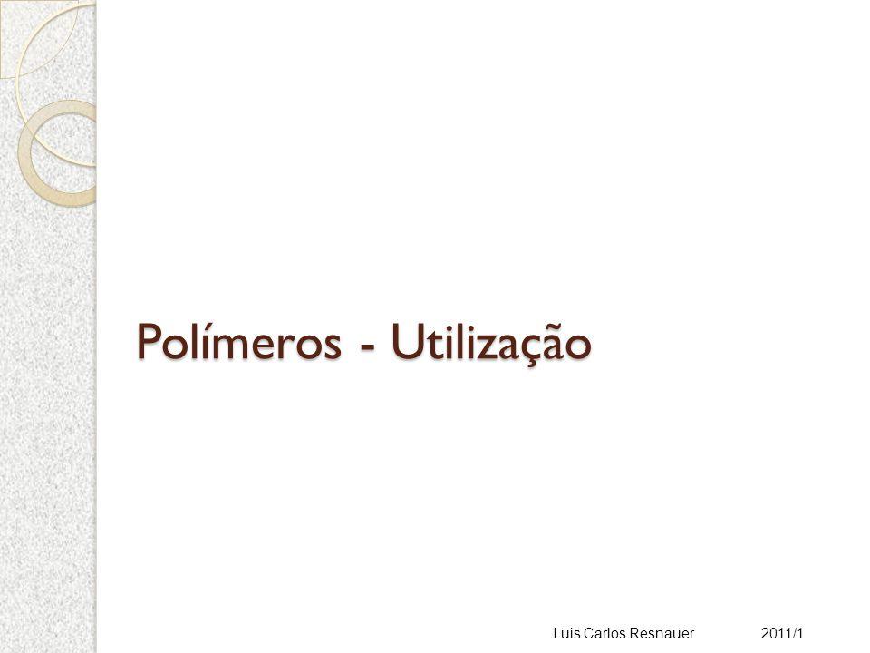 Polímeros - Utilização