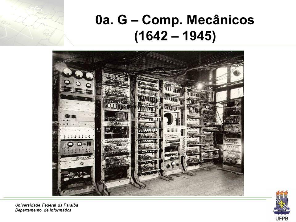 0a. G – Comp. Mecânicos (1642 – 1945)