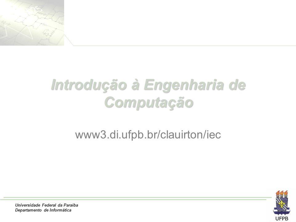Introdução à Engenharia de Computação