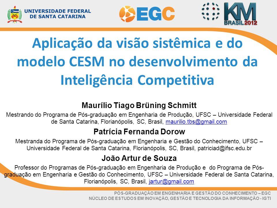 Maurílio Tiago Brüning Schmitt Patrícia Fernanda Dorow