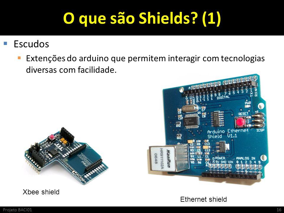 O que são Shields (1) Escudos