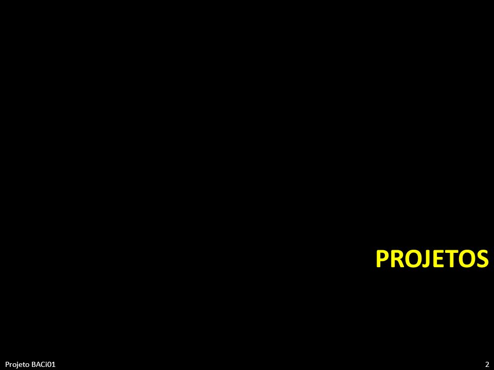 ProjetOS Projeto BACi01