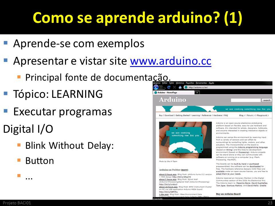 Como se aprende arduino (1)